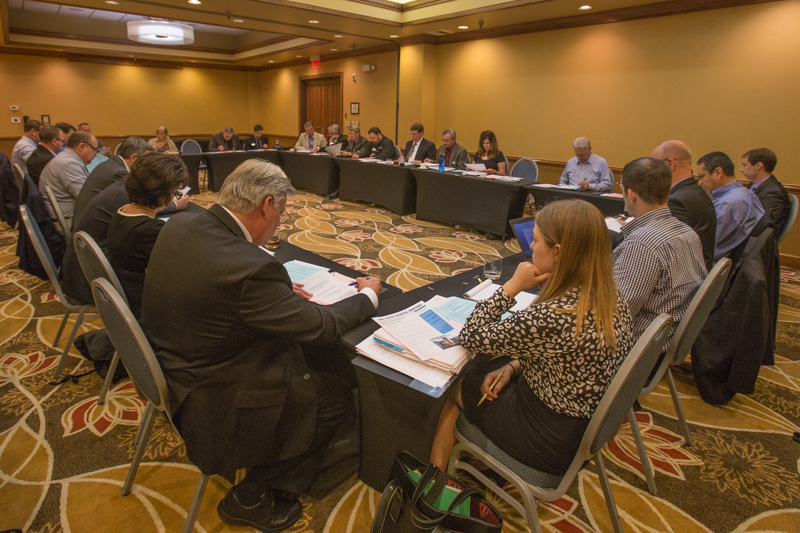 Members of AMOA's State Association Committee met Monday afternoon to discuss the most relevant issues state leadership is dealing with across the country.