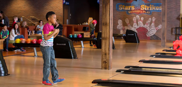 Stars and Strikes young bowler
