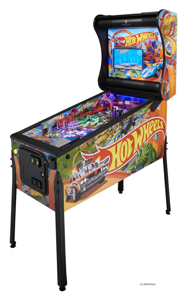 American Pinball Hot Wheels