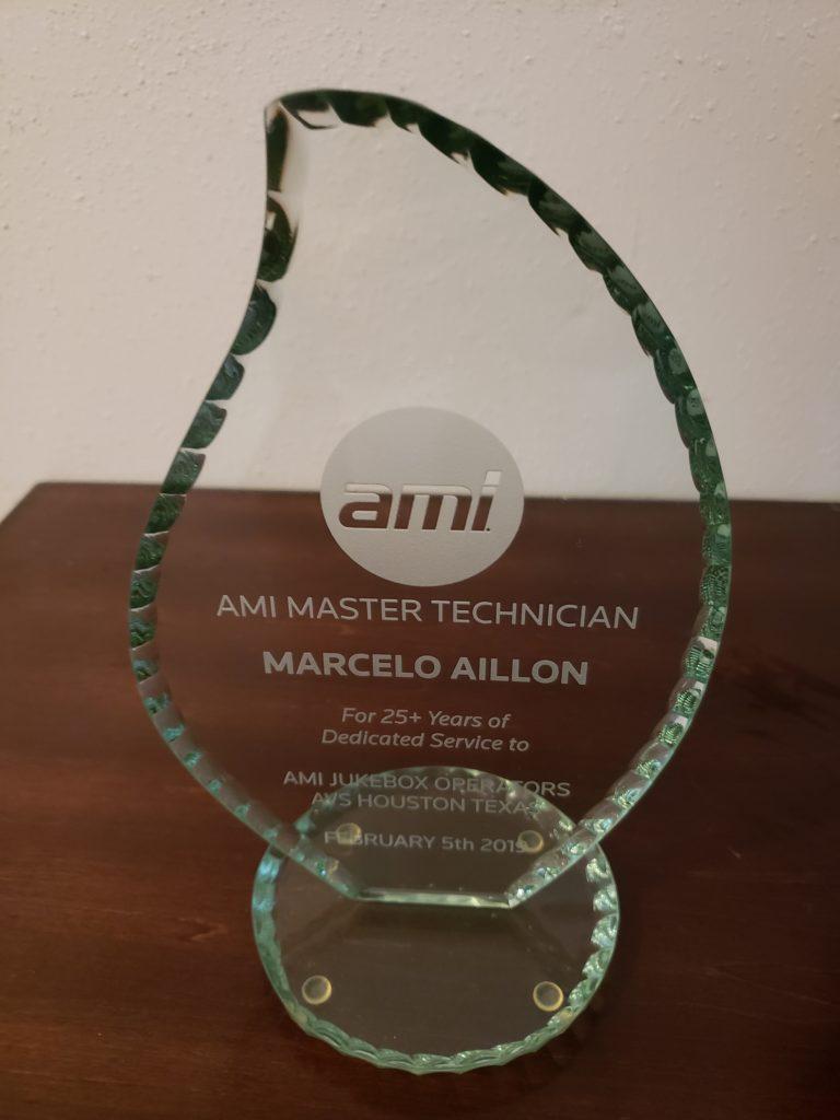 AMI Award to Marcelo