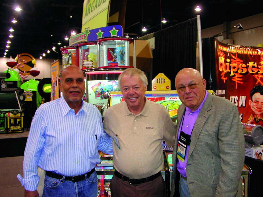Gene Lipkin, Eddie Adlum, Al Kress